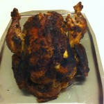 Aromatic roast chicken